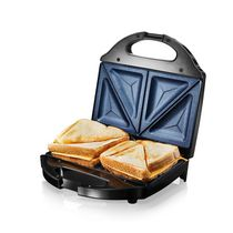 GraniteStone Diamond Blue Low Fat Multipurpose Sandwich Grill Nonstick Copper Coating