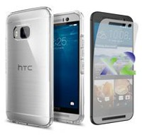 Exian Transparent Case for HTC One M9 - Clear