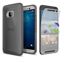 Exian Transparent Case for HTC One M9 - Grey