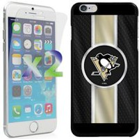 Exian NHL Case for iPhone 6 Plus - Pittsburgh Penguins