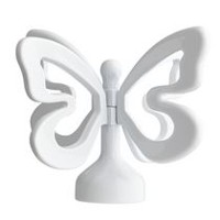 "Mainstays Kids  5/8"" White Finial Butterfly"