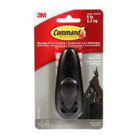 Command™ Large Forever Classic Metal Hook, oil rubbed bronze