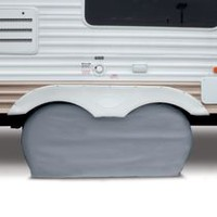 "Classic Accessories RV Dual Axle Wheel Cover, Fits up to 27"" wheel diameter"
