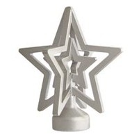 "Mainstays Kids 5/8"" Nickel Finial Star"