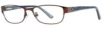 AV Studio Women's AV68S Brown Eyeglass Frame
