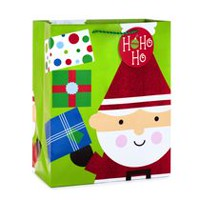 Hallmark Image Arts Santa Large Christmas Gift Bag