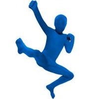 Versifli Boys' Morphsuit Costume Large