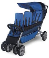 Foundations 3 Passenger Stroller