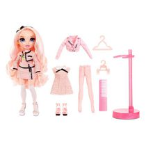 Rainbow High Bella Parker – Pink Fashion Doll with 2 Complete Mix & Match Outfits and Accessories