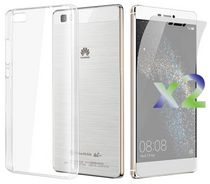 Exian TPU Case for Huawei P8 Lite in Transparent Clear