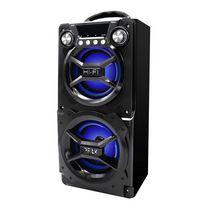 SYLVANIA Bluetooth Portable LED Speaker (black)