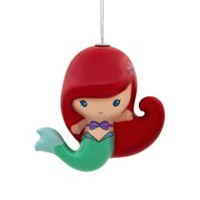 Hallmark Disney The Little Mermaid Ariel Decoupage Christmas Tree Ornament
