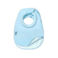 Tommee Tippee Boys' Super-Absorbent Closer to Nature Comfi-Neck Bib, Pack of 2