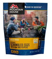 Mountain House Scrambled Eggs with Ham and Peppers Pouch