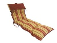 Henryka Brown Stripe Deluxe Lounge Cushion