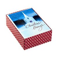 Hallmark Image Arts Country Church Boxed Christmas Cards