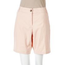 George Women's Twill Bermuda Shorts Coral 16