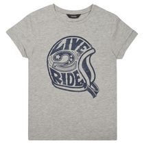 George British Design Boys Live To Ride T Shirt 6
