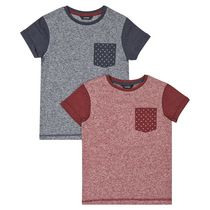 George British Design Boys 2pk T Shirt 6