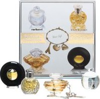 Lancome Precious Collection - Tresor 7.5 ml Edp + Noa 7 ml Edt + Safari 4 ml Edp + Paloma Picaso 4.8 ml + Bracelet -Mini Set For Women