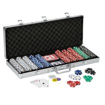Ensemble de jetons de poker Texas Hold'em de Fat Cat
