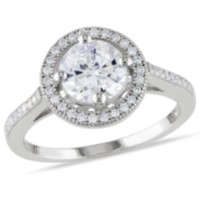 Miabella 2.60 Carat T.G.W. Cubic Zirconia Sterling Silver Halo Engagement Ring 7