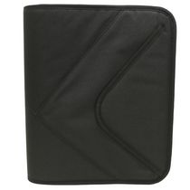 Case-Mate Polyester Zippered Front Flap Binder