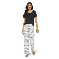814fff272a George Women s Tee and Pants Pyjama Set