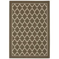 hometrends Lawson Rug Taupe 30 x 45