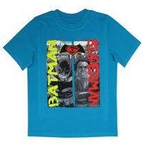 Dawn of Justice Boys' Short Sleeve T-shirt S-7/8