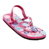George Toddler Girls' Floral Flip Flop Pink 7