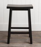 hometrends 24 inch Height Saddle Stool