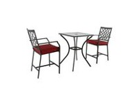 hometrends Montclair 3-Piece High Bistro Set