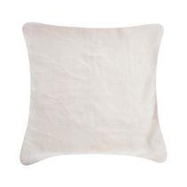 Plush Burgundy Cushion