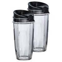 Tritan® Nutri Ninja® Two 24 oz. Cups with Two Sip & Seal™ Lids