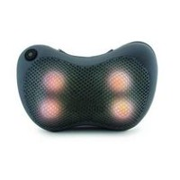 Sharper Image Shiatsu and Heat Massage Pillow Grey