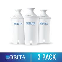 Brita® Standard Water Filter, Standard Replacement Filters for Pitchers and Dispensers, BPA Free, 3 Count