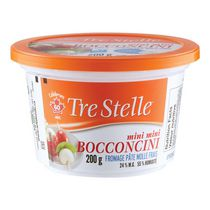 Tre Stelle Bocconcini Mini Mini Fresh Soft Cheese