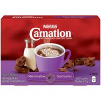CARNATION Hot Chocolate Marshmallow Carton