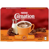 CARNATION Hot Chocolate Rich Carton