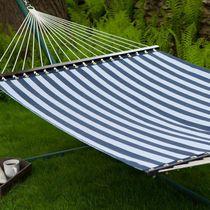 Hometrends Navy Stripe Textilene Hammock