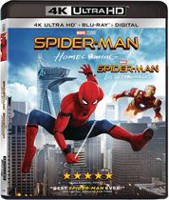 Spider-Man Homecoming (4K Ultra HD + Blu-ray + Digital HD) (Bilingual)