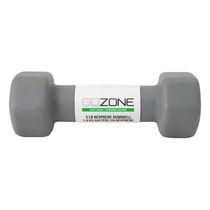 GoZone 3LB Neoprene Hex Dumbbell, Grey