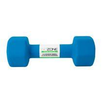 GoZone 10LB Neoprene Hex Dumbbell, Blue
