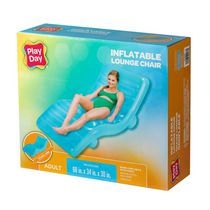 Play Day Inflatable Neon Chaise Lounge