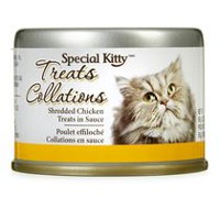Special Kitty Shredded Chicken Cat Treats in Sauce