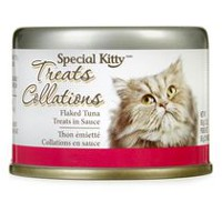 Special Kitty Flaked Tuna Cat Treats in Sauce
