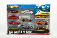 Hot Wheels – Ensemble de 10 voitures assorties
