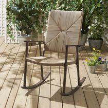 hometrends Woven Rocking Chair