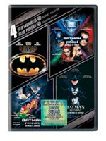 4 Film Favourites: Batman Collection (DVD + 'Suicide Squad' Ticket Offer) (Bilingual)